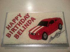 Mustang cake 2013