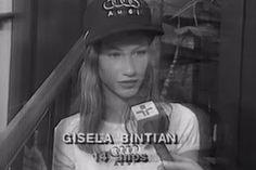 Gisele Bündchen nem sempre foi famosa – e naquela época tinha até outro nome ;-)