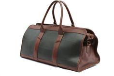 Upcycled Weekender / Carry On / Travel Duffle Bag - Traveler. $169.00, via Etsy.