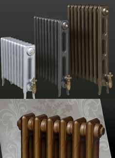 Paladin is a leading cast iron radiator manufacturer here in the UK, who custom-make bespoke column radiators that are all covered by our guarantee. Victorian Radiators, Edwardian House, Victorian Houses, Traditional Radiators, Radiator Heater, Kitchen Conversion, Georgian Interiors, Cast Iron Radiators, Column Design