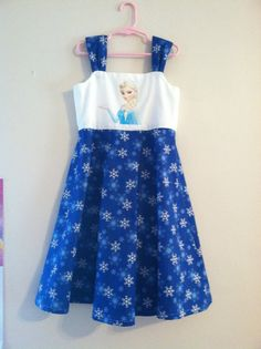 Cotton Disney Frozen Elsa Sundress on Etsy, Sold