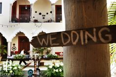 Hacienda Corazon courtyard   Mexican Wedding, Riviera Maya, Hacienda Wedding, Beach Wedding, Destination Wedding, Hacienda del Mar, Hacienda Corazon, Puerto Aventuras, Vintage Wedding, Mexico, Lucidum Photography