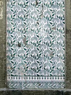 Azulejos antigos no Rio de Janeiro: Gamboa XIII - rua Senador Pompeu