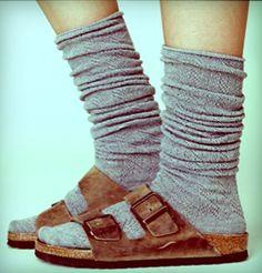 Birks & Socks. GET IT.