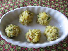 "Rice balls...toddler finger foods! (Rice, lentils, soup..) **great for doing ""BRAT"" diet **"