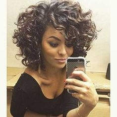 Pretty short hairstyles ideas for curly hair 2017 35