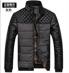 Купить товарКлассический бренд мода мужчины теплая куртка большой размер L 4XL мода плед дизайн молодой человек зимние пальто 92389 в категории Паркина AliExpress.  Классический бренд мужской моды куртка теплая куртка большой размер L-4XL мода плед дизайн молодой человек зимние пальт