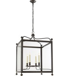 Visual Comfort SP5003BZ J. Randall Powers Greggory Large Lantern in Bronze