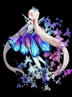 Loli Kawaii, Kawaii Anime Girl, Anime Oc, Anime Manga, Neko, Elsword Eve, Anime Witch, Prinz Eugen, Mobile Legend Wallpaper