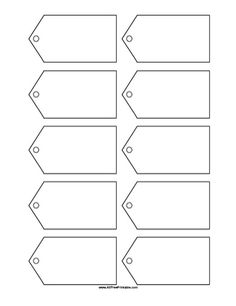 Tag Templates on Pinterest | Gift Tag Templates, Templates and Tags