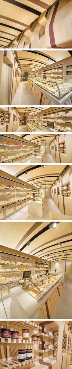 Fromagerie Alléosse store by AMlab, Paris – France.