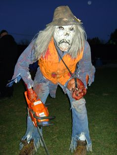 Chainsaw Freddie(my wickedly scary husband) is waiting on you at Wicked Forest!