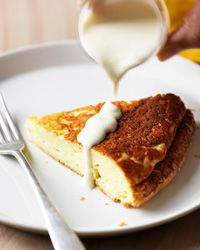Double-Baked Cheese Soufflé with Parmesan Cream // More Delicious Recipes With Cheese: http://fandw.me/JMT #foodandwine