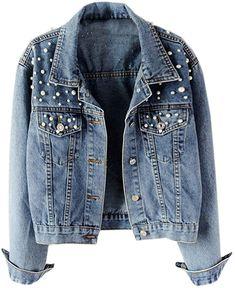 Loose Jeans, All Jeans, Oversized Denim Jacket, Cropped Denim Jacket, Denim Coat, Denim Jackets, Bomber Jacket, Streetwear Mode, Streetwear Fashion