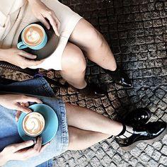 Partner in crime #coffeenclothes  #☕️ @tomboy_maya