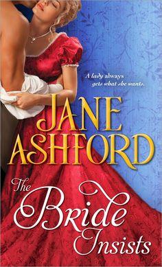 jane ashford | Giveaway Interview THE BRIDE INSISTS by JANE ASHFORD @SourcebooksCasa