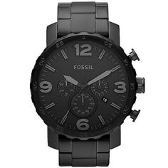 Fossil Nate Watch in (Black)