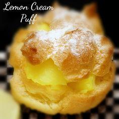 Lemon Cream Puff Recipe ⋆ The NEW N!FYmag