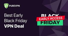 Hey you, looking for a fantastic deal offer on this Black Friday. You can save money this holiday season by using our easy-to-use VPN app for a very low price. Use PureVPN at only $79 for 5 years and enjoy and 88% discount for the entire period. Early Black Friday, Best Black Friday, Black Friday Deals, Best Vpn, 5 Years, Saving Money, Period, Tech, App
