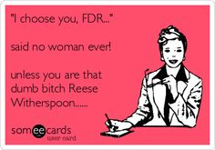 hahahaha....she can have FDR!....more Tommy for me!