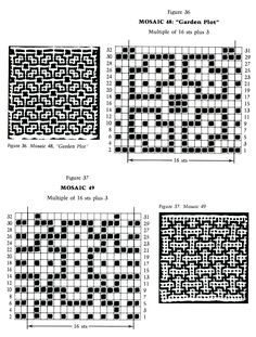 Фото - Mosaic Knitting Barbara G. Walker (Lenivii gakkard) #46