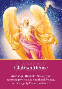 Oracle Card Clairsentience | Doreen Virtue | official Angel Therapy Web site