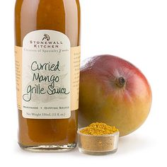 Curried Mango Grille Sauce 11oz. $7.95