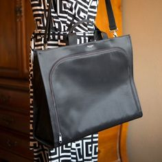 Kate Spade x large black nylon shopper