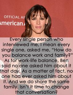 When Jennifer Garner highlighted how different the questions directed at her and husband Ben Affleck really are. 31 Times Celebrities Gave The Best Damn Responses To Sexist Questions Z Cam, Gender Roles, Intersectional Feminism, Equal Rights, Patriarchy, Social Issues, Social Justice, Equality, No Response