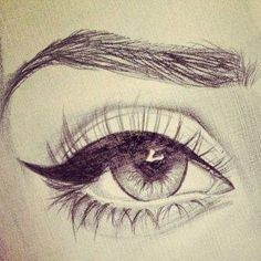 Картинка с тегом «eye, drawing, and art» Sketches Tutorial, Doodle Drawings, Pencil Drawings, Still Life Sketch, Design Comics, Types Of Art, Drawing Tips, Fashion Sketches, Concept Art