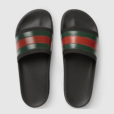 Web slide sandal - Gucci Men's Sandals 429469GIB101098