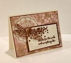 Jill's Card Creations: More Dragonfly Dreams & some swaps