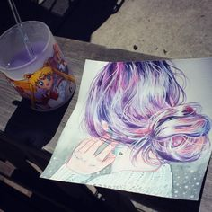 How to paint hair with watercolor tutorial and tips