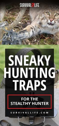 Sneaky Hunting Traps Sneaky Hunting Traps For The Stealthy Hunter Bow Hunting Deer, Quail Hunting, Hunting Rifles, Archery Hunting, Survival Life, Survival Skills, Survival Stuff, Turkey Hunting Season, Hunting Equipment