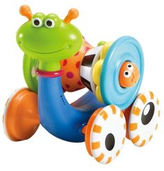 Baby Toy - Musical Rolling Crawl N' Go Snail - With 5 Pc Activity Stacker International Playthings http://www.amazon.com/dp/B0014IEBIO/ref=cm_sw_r_pi_dp_OVK-tb1ZC7M72