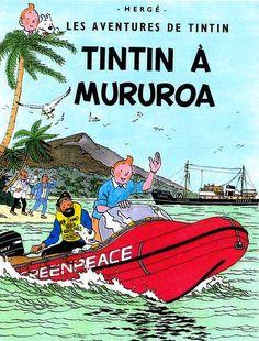 Tintin à Mururoa