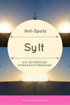 Sylt Sonnenuntergang - die schönsten Hotspots für einen wundervollen Sonnenuntergang auf Sylt.