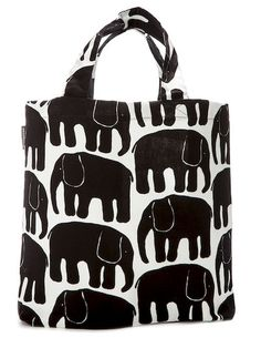 Finlayson Elefanttti shopping bag | Elefantti-kauppakassi 17 € Tom Of Finland, New Print, Baby Elephant, My Bags, Shopping Bag, Cotton Fabric, Toms, Reusable Tote Bags, Japan
