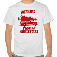 Family Christmas Tshirts Artwork designed by GoodToGoTees. Made by Zazzle Apparel in San Jose, CA.   Made in USA