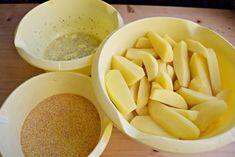 cartofi-in-crusta-de-malai-1 Honeydew, Cantaloupe, Snack Recipes, Snacks, Chips, Fruit, Food, Snack Mix Recipes, Appetizer Recipes