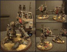 Autocannon, Imperial Guard, Sentinel, Walker