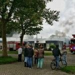 Brand in bedrijfspand Oisterwijk (  Film)
