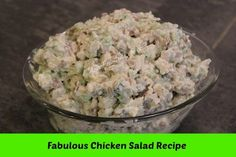 This is the BEST chicken salad recipe EVER! There is no way to describe how good this chicken salad is – you will have to make it and see. Believe me when I say this chicken salad is simply delicious. Chicken Salad Recipes, Recipe Chicken, Original Chicken Salad Recipe, Chicken Salads, Great Recipes, Favorite Recipes, Cooking Recipes, Healthy Recipes, Soup And Salad