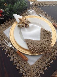 Natal Dourado - Michelle Table Decor