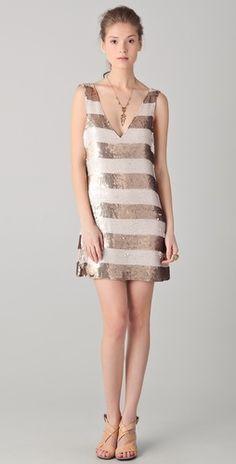 Bachelorette party.   Parker Sequin Dress