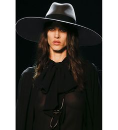 Saint Laurent Spring 2013 Ready-to-Wear Collection - Vogue Runway Fashion, Fashion Models, Fashion Show, Fashion Design, You Look Pretty, Witch Outfit, Vogue, Hats For Women, Yves Saint Laurent