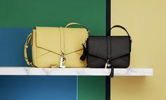 Nine de Lancel #womenbags #crossedbag #itbag #leather