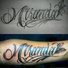 MIRANDA .#dibujando #tattooartist #tattooer #tattoostudio #artoftheday #artwork #dibujantenocturno #dibujante #illustration #lineas #calligraphy #typography #letters #letteringtattoo #caracas #inked  #tatuador #venezuela #lapiz #papel #lapizypapel #dibujantenocturno #creativo #tatuadoresdevenezuela #intenzepride