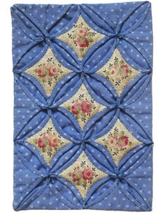 Cathedral Window Miniature Quilt