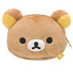 Rilakkuma brown bear plush pouch wallet망고카지노 HERE777.COM 망고카지노 망고카지노 망고카지노 바카라